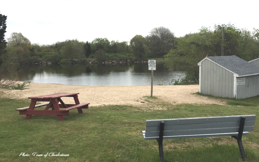 Little Nini Pond in Charlestown Rhode Island